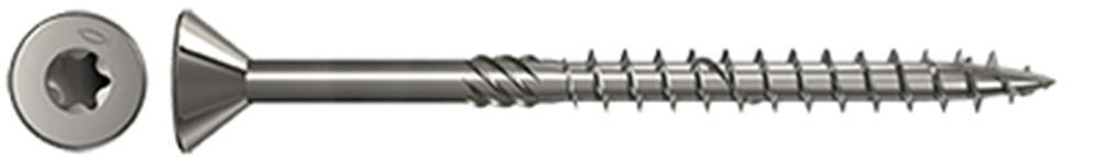 Gevelschroef cilinderkop torx, gebronsd