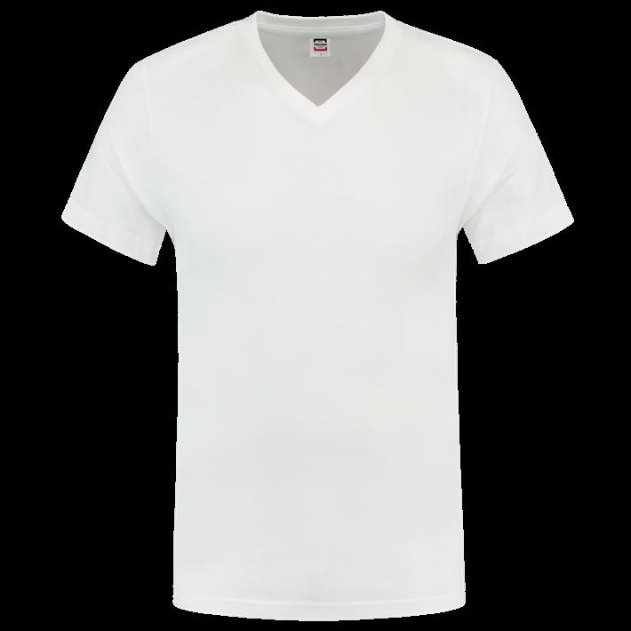 Tricorp T-shirt Vhals SlimFit White