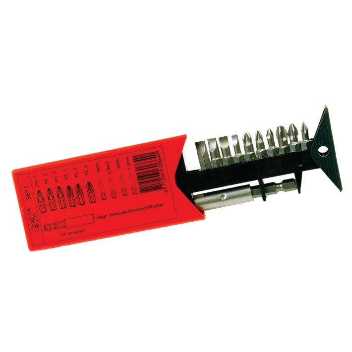 Bits sets staal | Bitsets steel | Bitsätze Stahl | Lots d'embouts acier