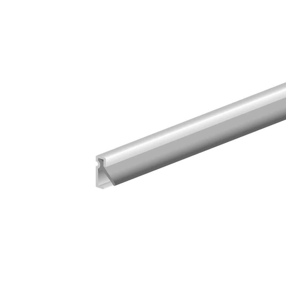 Tochtprofiel inbouw, aluminium gelakt