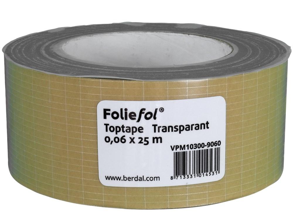 Foliefol® Toptape 0,06 x 25 M transparent
