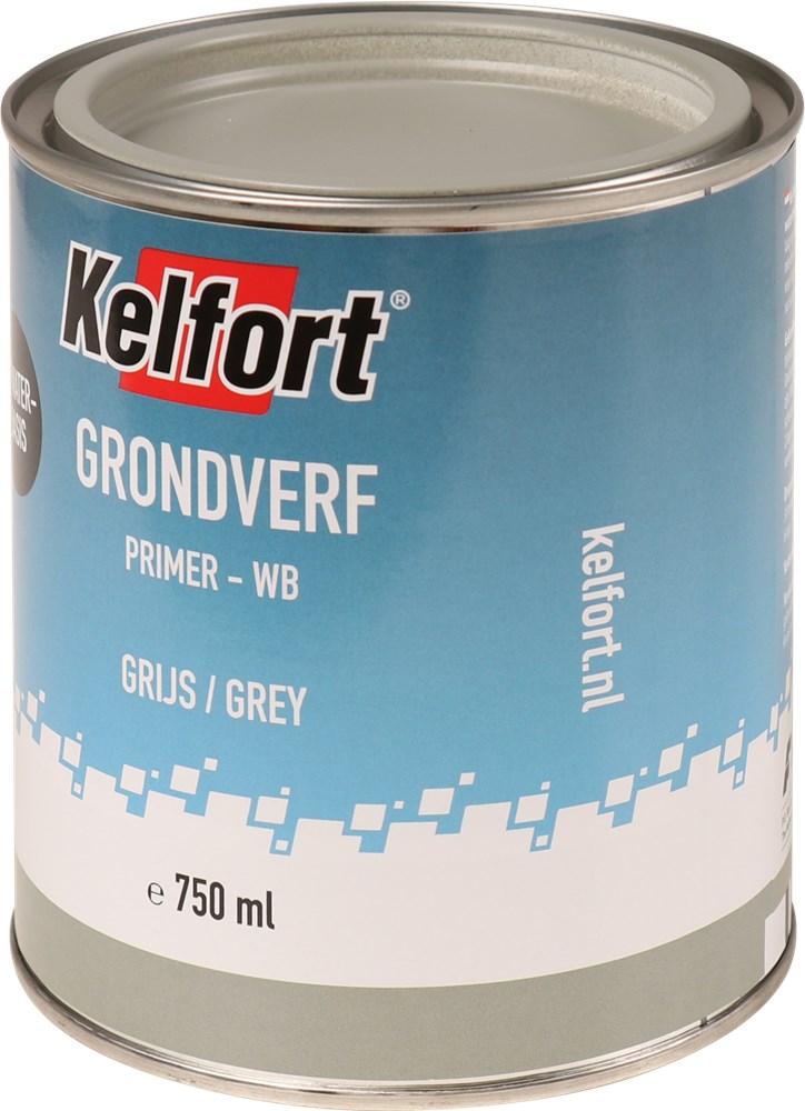 KELFORT GRONDVERF GRIJS WATERBASIS 750ML