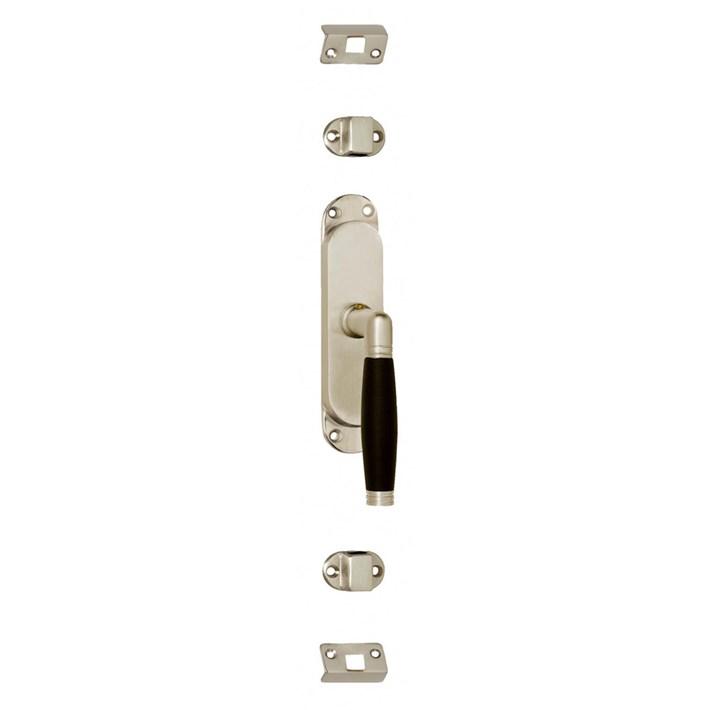 Raamespagnolet Ton 222 rechts nikkel mat/ebbenhout 0019.562060A