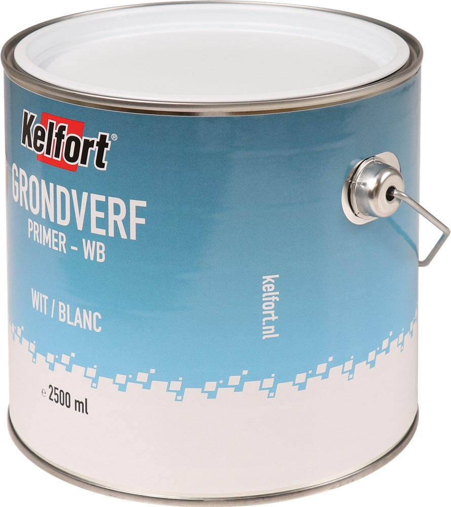 KELFORT GRONDVERF WIT WATERBASIS 2500ML