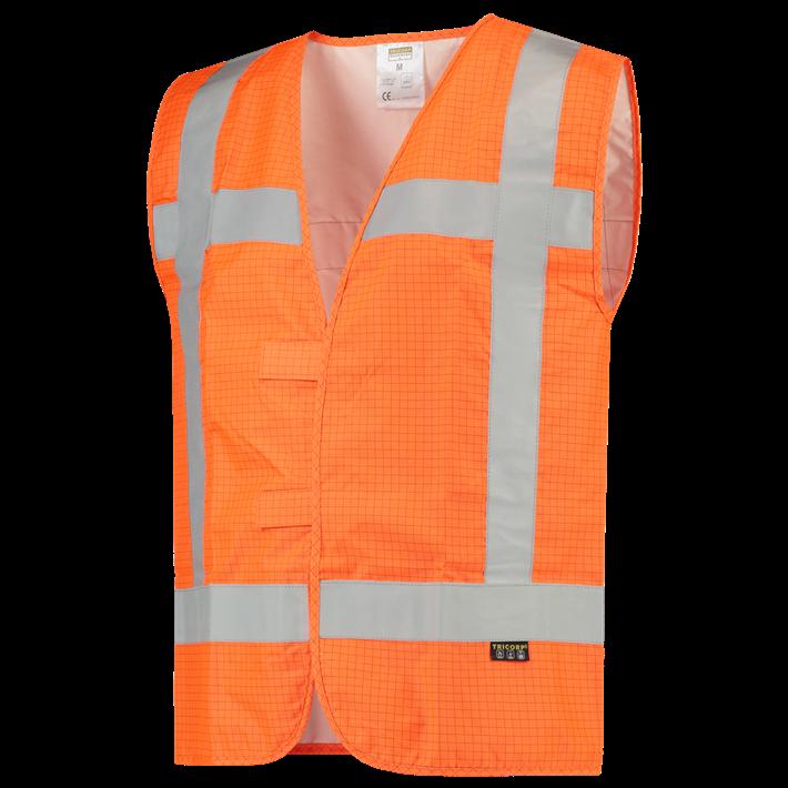 Veiligheidsvest RWS Vlamvertragend Antistatisch 453018 Fluor Orange