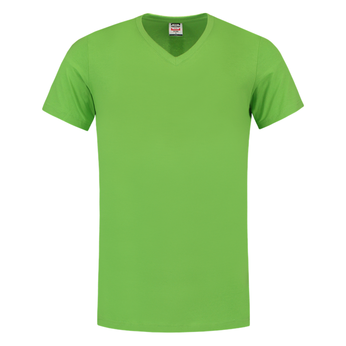 Tricorp T-shirt Vhals SlimFit Lime