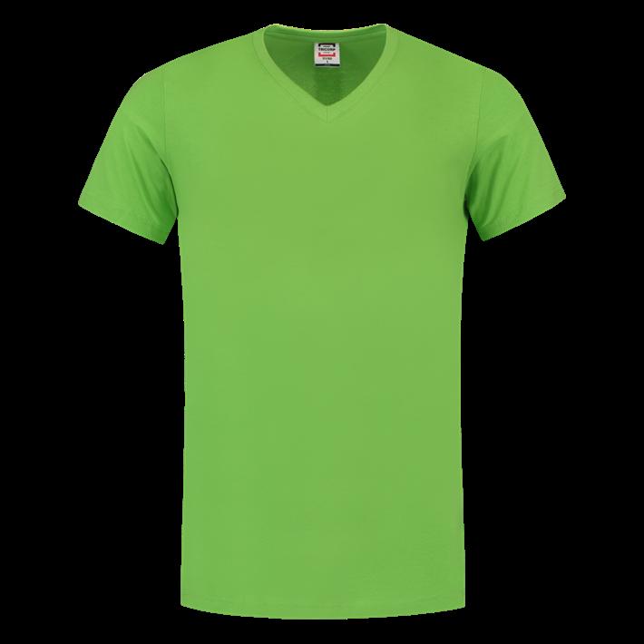 Tricorp T-shirt Vhals SlimFit Lime