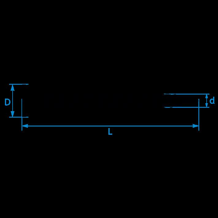 Glaslatschroeven zelfborend lenskop tekening | Glazing bead selfdrilling screws lens head drawing | Glasleistenschrauben selbstbohrend Linsenkopf Zeichnung | Vis à pareclose autoperceuses tète de lentille plan