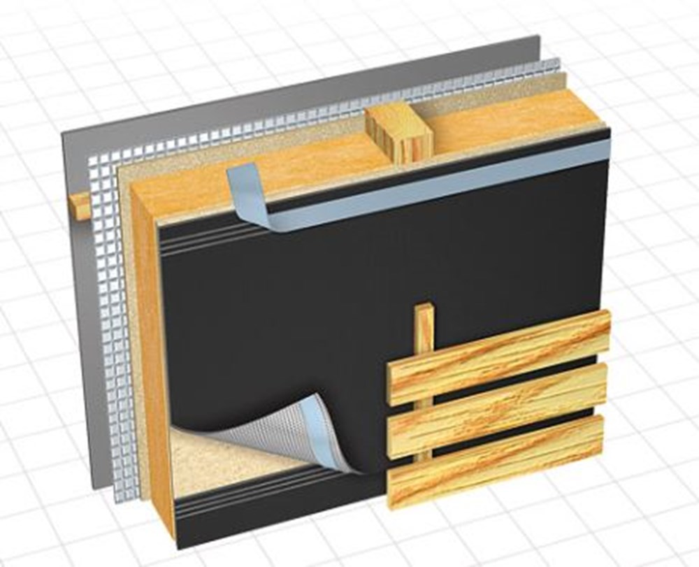 dorken uv bestendige folie delta fassade b 50mtr polvo bv. Black Bedroom Furniture Sets. Home Design Ideas