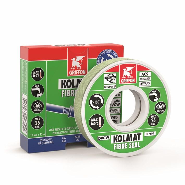 6300531 Griffon Kolmat® Fibre Seal Roll 12 mm x 15 m NL/FR