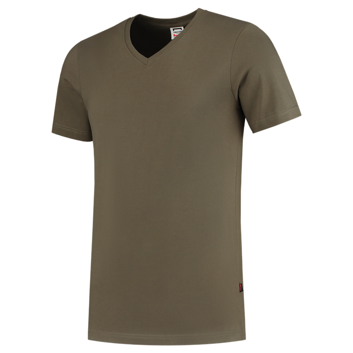Tricorp T-shirt Vhals SlimFit Army