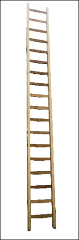 Ladder enkel, hout