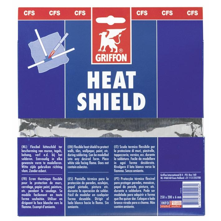 1249552 GR Heat Shield 25 x 19 cm Multi language