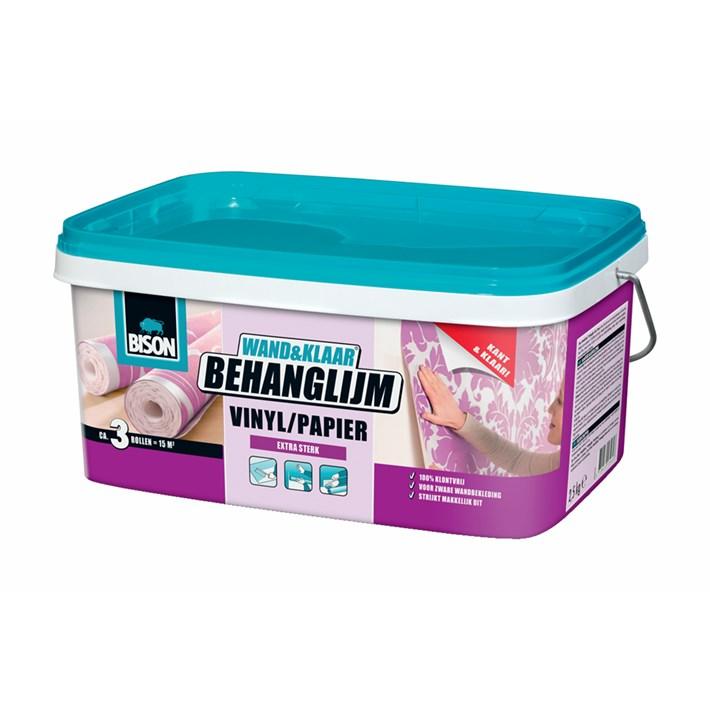 6302989 BS Wand&Klaar® Behanglijm Vinyl/Papier bucket 2,5 kg NL