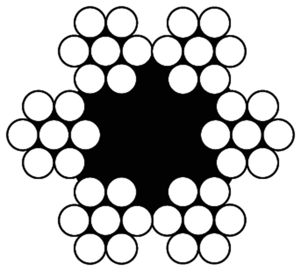 DULIMEX STAALDRAADKABEL 6X7+1TWK 3MMX50MTR