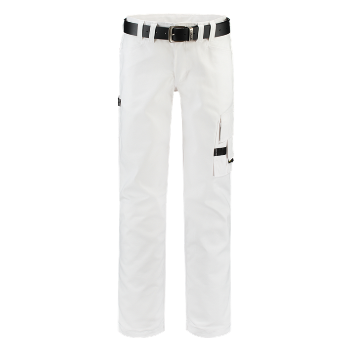 Werkbroek Canvas White