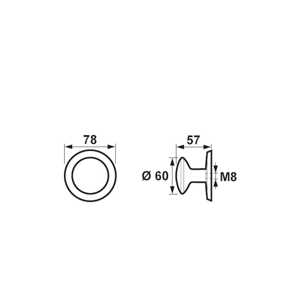 deurknop Paddestoel product maattekening 6251-07.png