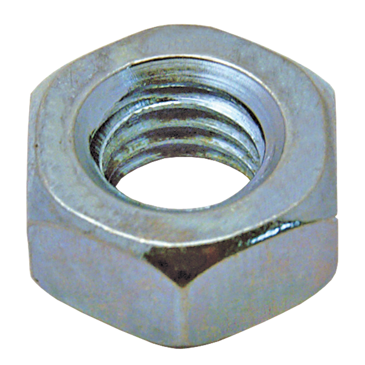 Zeskante moeren ijzer gegalvaniseerd DIN934 | Hexagon nuts iron galvanized DIN934 | Sechskantmuttern Eisen glanzverzinkt DIN934 | Écrous hexagonaux acier zingué DIN934