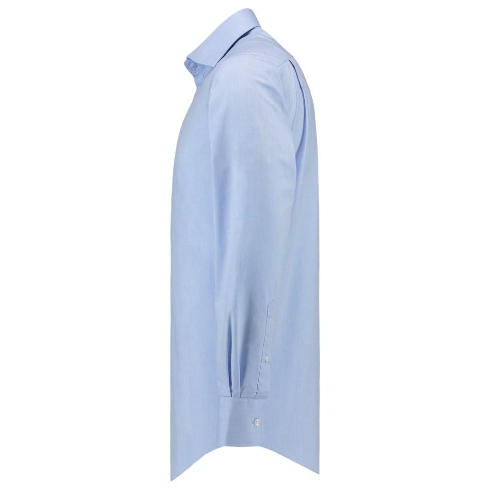 Slim Fit Heren Overhemd.Tricorp Heren Overhemd Oxford Slim Fit Cms6001 Blue Mt 37 7 Polvo Bv