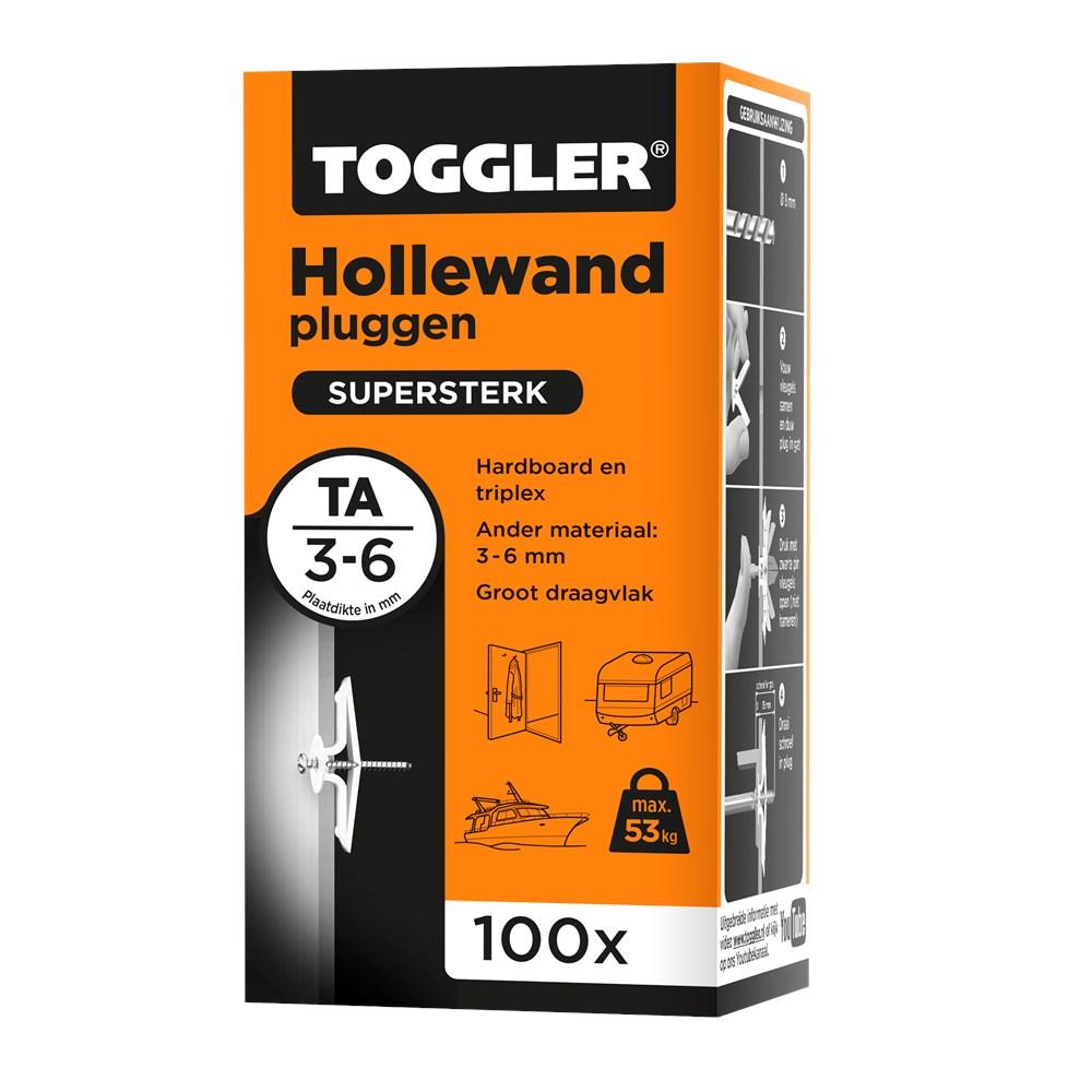Toggler Hollewandplug TA doos met 100 pluggen.tif