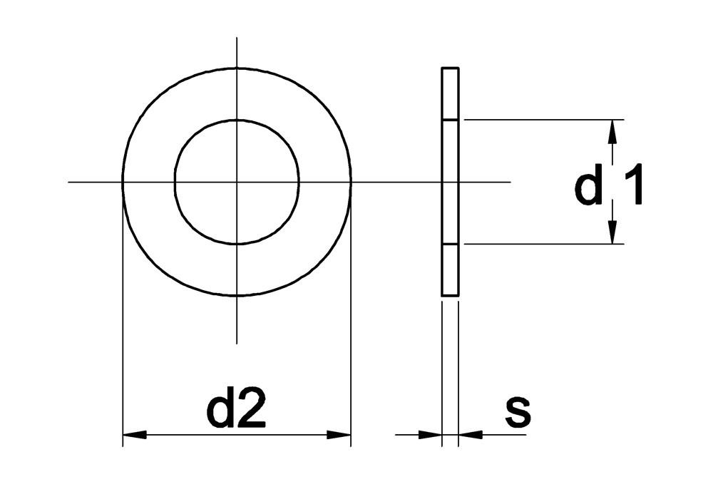 SLUITRING RVS A2 DIN 125/ 20